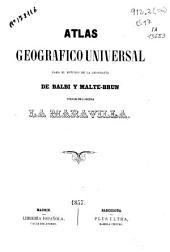 Atlas Geográfico Universal para el estudio de la geografía