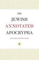 The Jewish Annotated Apocrypha