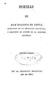 Poesías de Don Eugenio de Tapia