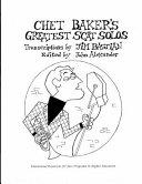Chet Baker S Greatest Scat Solos