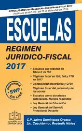 ESCUELAS REGIMEN JURIDICO-FISCAL 2017