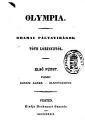 Olympia. Dramai palyaviragok. (Olympia.) hung
