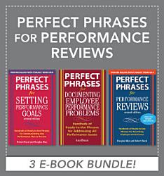Perfect Phrases For Performance Reviews Ebook Bundle  Book PDF