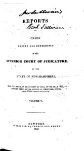 The New Hampshire Reports: Volume 5