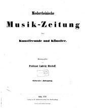 Niederrheinische Musik-Zeitung für Kunstfreunde und Künstler: Band 2