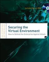 Securing the Virtual Environment  Included DVD PDF