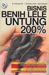 Bisnis Benih Lele, Untung 200%