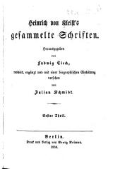 Gesammelte Schriften: Band 1