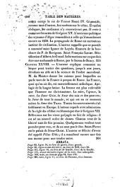 Considérations sur le règne des quinze premiers papes qui ont porté le nom de Grégoire