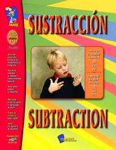 Sustraccion/Subtraction - A Bilingual Skill Building Workbook Gr. 1-3