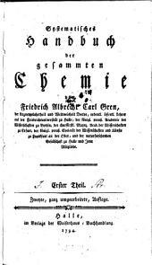 Systematisches Handbuch der gesammten Chemie: Band 1