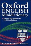 The Oxford English Minidictionary PDF