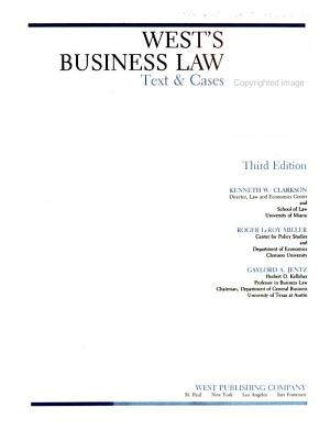 West s Business Law PDF