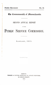 Annual Report - Public Service Commission: Part 2