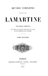 Œuvres complètes de M. de Lamartine: Volume2