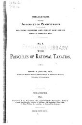 The Principles of Rational Taxation