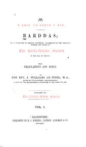 Barddas, Or, A Collection of Original Documents Illustrative of the Theology, Wisdom and Usages of the Bardo-Druidic System of the Isle of Britain