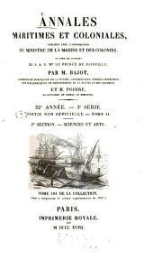 Annales maritimes et coloniales: Volume32
