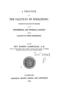 A Treatise on the Calculus of Operations PDF