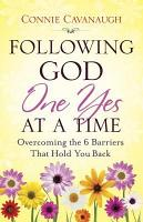 Following God One Yes at a Time PDF