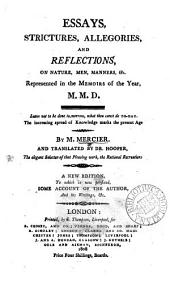Essays ... and reflections on nature, men ... &c. represented in the Memoirs [&c.].