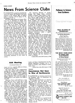 Science News letter PDF