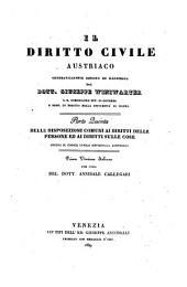 Il diritto civile austriaco sistematicamente esposto ed illustrato. Prima versione italiana per cura di Annibale Callegari: Volume 5