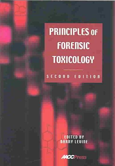 Principles of Forensic Toxicology PDF