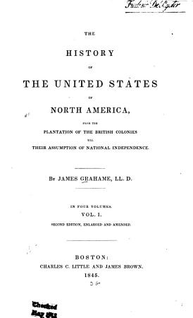 The History of the United States of North America PDF