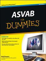 ASVAB For Dummies PDF