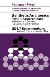 Synthetic Analgesics: Morphinans: Benzomorphans, Part 2