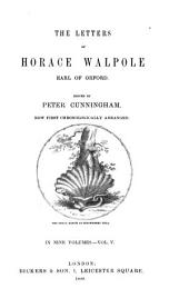 The Letters of Horace Walpole: Earl of Orford, Volume 5