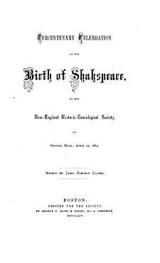 Tercentenary Celebration of the Birth of Shakespeare PDF