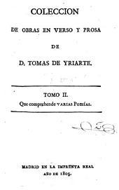 Prologo. Epístolas en verso. Poemas varios. Traducciones en verso. Poesías varias