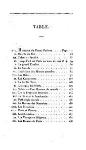 Guillaume le franc-parleur, ou observations sur les moeurs et les usages français au commencement du XIXe si`ecle: Volume1
