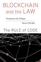 Blockchain and the Law PDF