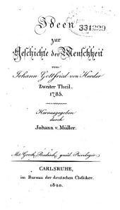 J.G. v. Herder's sämmtliche werke: Band 4