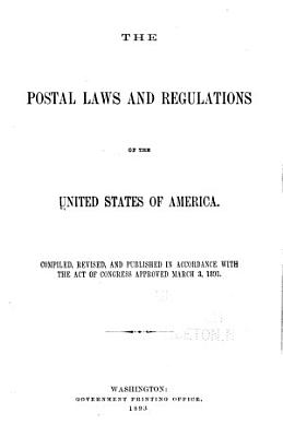The Postal Laws and Regulations PDF