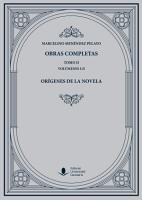 Obras Completas  Tomo II   Or  genes de la novela PDF