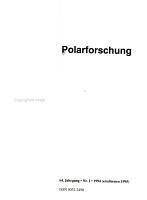 Polarforschung PDF