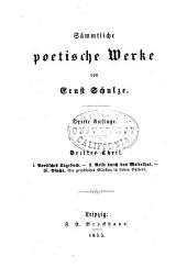 th. Poetisches tagebuch; Reise durch das Weserthal; Psyche