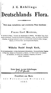 J. C. Röhlings Deutschlands Flora