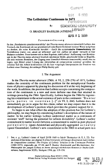 Studia Leibnitiana PDF