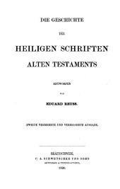 Die Geschichte der Heiligen Schriften Alten Testaments