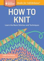 How to Knit PDF