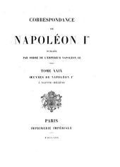 Correspondance de Napoléon Ier: Volume 29