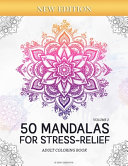 50 Mandalas for Stress-Relief (Volume 2) Adult Coloring Book