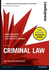 Law Express: Criminal Law: Edition 6