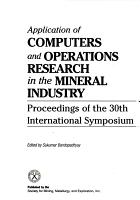 Application of Computers and Operations Research in the Mineral Industry PDF