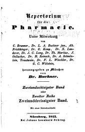 Repertorium für die pharmacie ...: Band 82